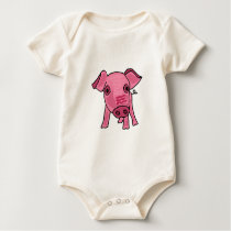 CB- Funny Pig Baby Outfit Baby Bodysuit