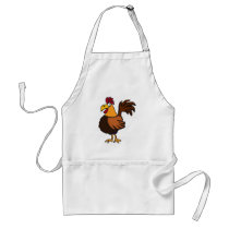 CB- Funny Rooster Apron
