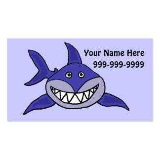 CB- Funny Shark Business Card