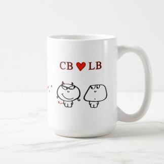 """""""CB heart LB"""" Coffee Mug"""