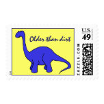 CB- Older than Dirt Dinosaur Postage Stamps