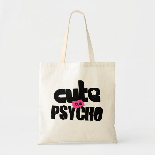 CB Psycho $13.95 Canvas Tote Bag