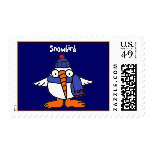 CB- Snowbird Postage Stamps