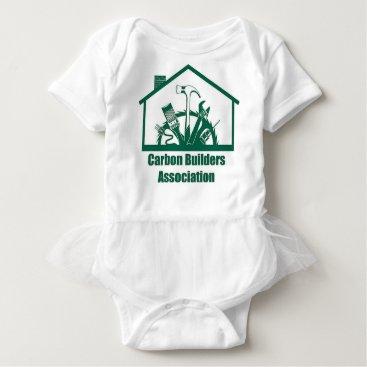Beach Themed CBA Logo Baby Bodysuit
