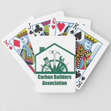 Beach Themed CBA Logo Bicycle Playing Cards