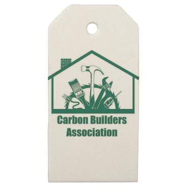 Beach Themed CBA Logo Wooden Gift Tags