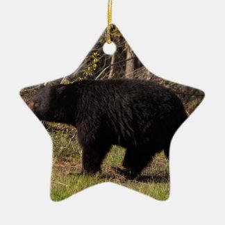 CBB Chubby Black Bear Christmas Ornaments