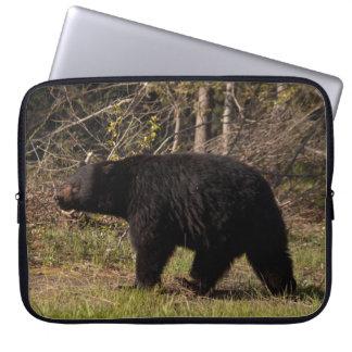 CBB Chubby Black Bear Computer Sleeve
