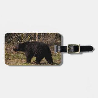 CBB Chubby Black Bear Luggage Tag