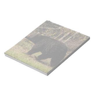 CBB Chubby Black Bear Memo Notepads
