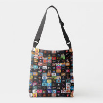 CBC Logos & Graphics Collage Crossbody Bag
