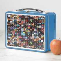 CBC Logos & Graphics Collage Metal Lunch Box