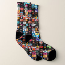 CBC Logos & Graphics Collage Socks
