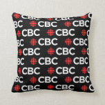 CBC Pattern Throw Pillow