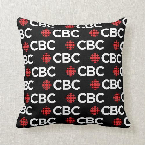 CBC Pattern Throw Pillow
