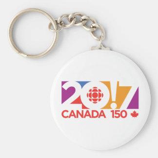CBC/Radio-Canada 2017 Logo Keychain