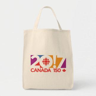 CBC/Radio-Canada 2017 Logo Tote Bag