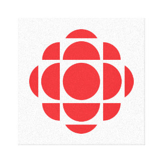 CBC/Radio-Canada Gem 2 Canvas Print
