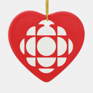 CBC/Radio-Canada Gem Ceramic Ornament