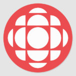 CBC/Radio-Canada Gem Classic Round Sticker