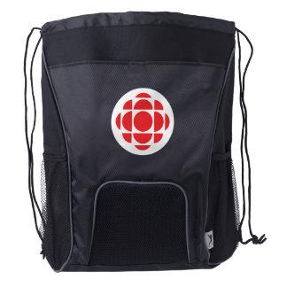 CBC/Radio-Canada Gem Drawstring Backpack