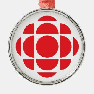 CBC/Radio-Canada Gem Metal Ornament