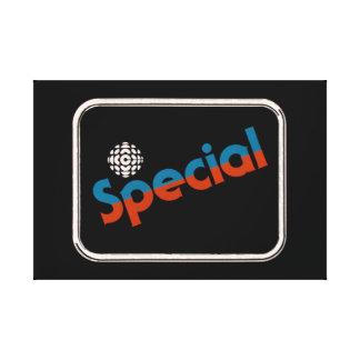 CBC Special - 1978 promo graphic Canvas Print