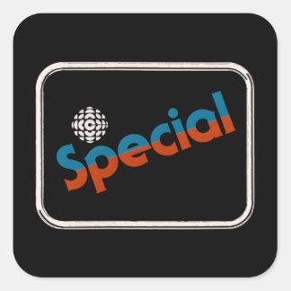 CBC Special - 1978 promo graphic Square Sticker