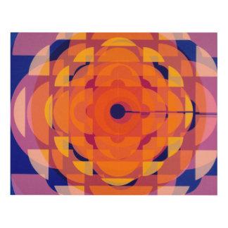 CBC Stylized logo - 1974 promo graphic Panel Wall Art