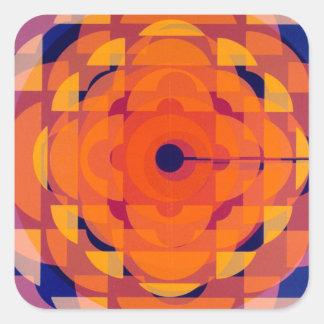 CBC Stylized logo - 1974 promo graphic Square Sticker