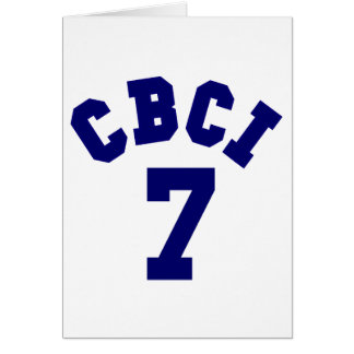 CBCI 7 - Central Bible College International Card