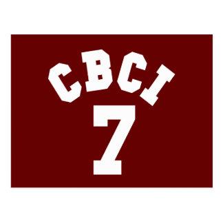 CBCI 7 - Central Bible College International Postcard