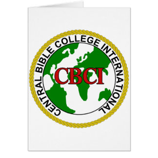 CBCI Central Bible College International Card