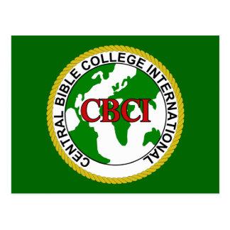 CBCI Central Bible College International Postcard