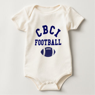 CBCI Football Still Undefeated Baby Bodysuits