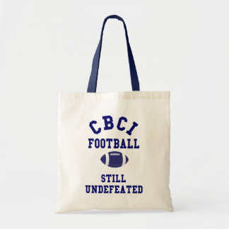 CBCI Football Still Undefeated Tote Bags