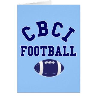 CBCI Football Still Undefeated Card