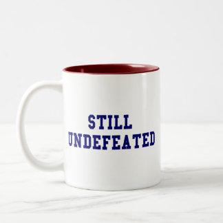 CBCI Football Still Undefeated Two-Tone Coffee Mug
