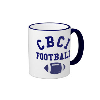 CBCI Football Still Undefeated Ringer Coffee Mug