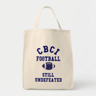 CBCI Football Still Undefeated Tote Bag