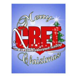 CBET CHRISTMAS Certified Biomedical Equipment Tech Customized Letterhead