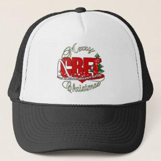 CBET CHRISTMAS Certified Biomedical Equipment Tech Trucker Hat
