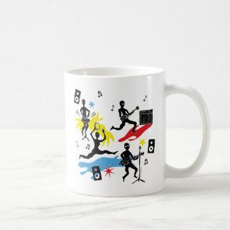 CBG Ninja Band Classic White Coffee Mug