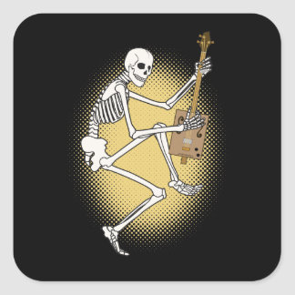 CBG Skeleton Square Sticker