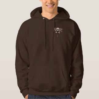 CBG Skulls 'n Swirls Hooded Sweatshirt