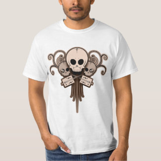 CBG Skulls 'n Swirls Shirt