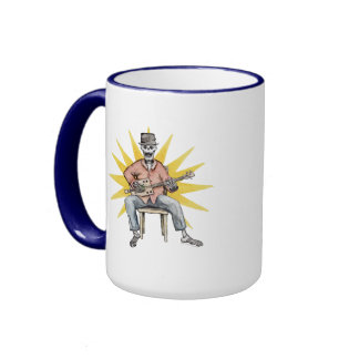 CBG Star Skeleton Ringer Coffee Mug