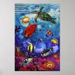 CBjork Magical Reef Poster