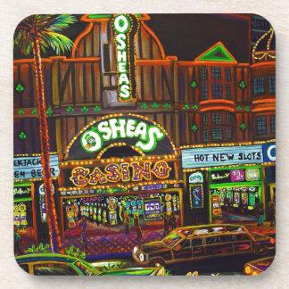 CBjork Osheas Las Vegas Artwork Beverage Coaster