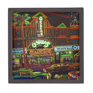 CBjork Osheas Las Vegas Artwork Jewelry Box
